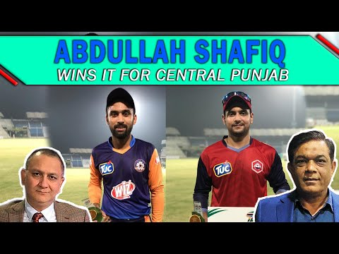 Abdullah Shafiq wins it for Central Punjab | Haider Ali stands out for Northern