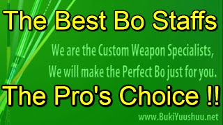 Bo Staff For Sale: Custom Bo Staffs For Sale To Use In Competition And Training