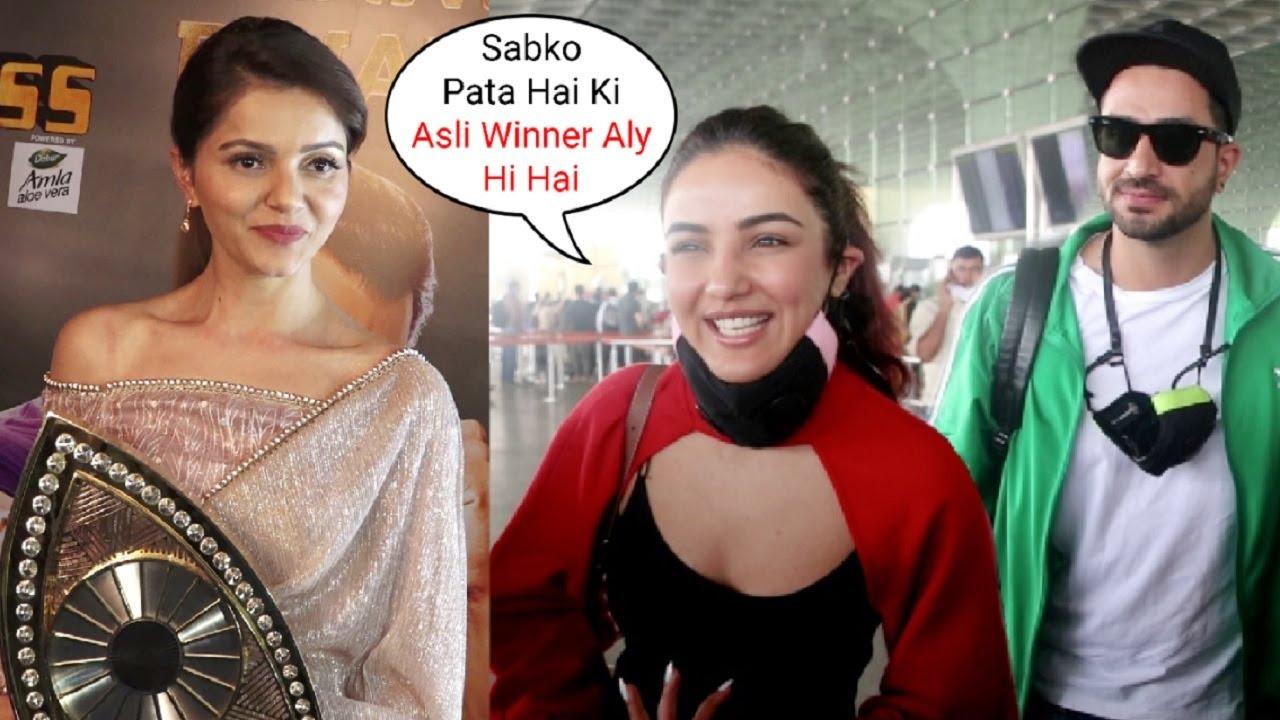 Jasmin Bhasin Reaction On Rubina Dilaik Winner Of Bigg Boss 14
