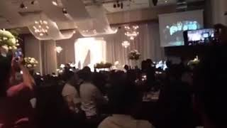BTS SINGING AT THEIR MANAGER'S WEDDING