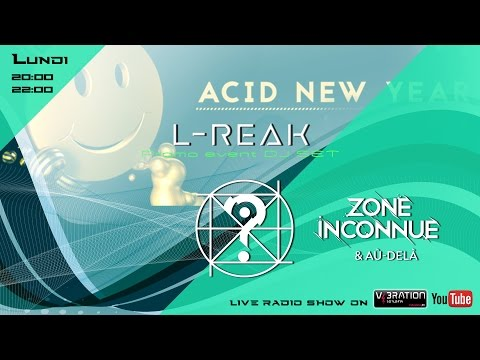Dj L-Reak promo Mix - Event Acid New Year / \ Live Radio Show