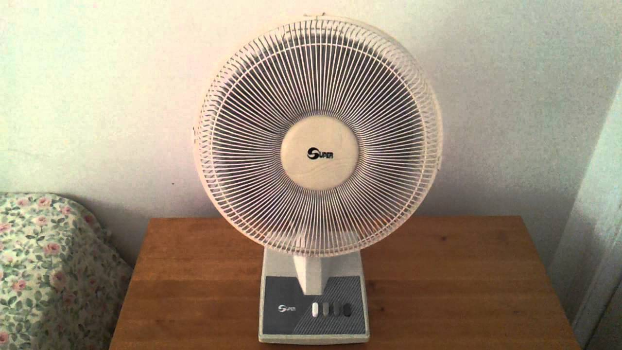 1990 S Or 2000 S Super 12 Quot Inch Oscillating Desk Table Fan