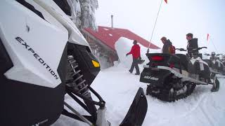 The Whistler Insider:  Powder Surfing on Sleds in the Backcountry