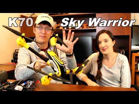 Дрон K70 Sky Warrior: 2016's Best Toy Camera Drone до 300 метра обвхат 15