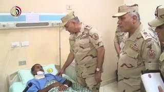 رئيس الأركان: لا تهاون في النيل من قوى الشر وجماعات الإرهاب.. فيديو
