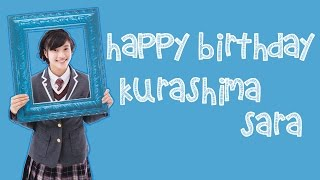 Happy Birthday Kurashima Sara ( 倉島颯良 ) - Sakura Gakuin ( さくら...