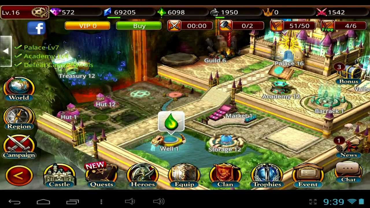 King of Legend - Android and iOS GamePlay - YouTube