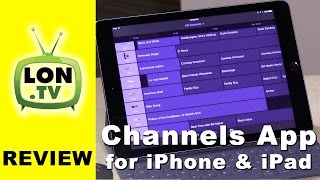 Channels App for iPad / iPhone Review - Live TV App for HDHomerun Tuners