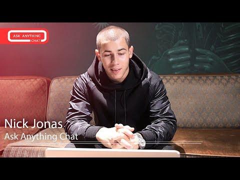 Nick Jonas Interactive Chat w/ Romeo Saturday Night Online  - AskAnythingChat