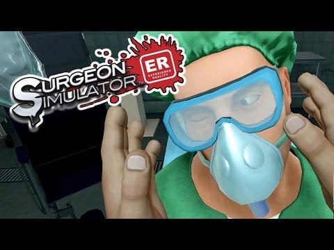 Surgeon Simulator ER - VR Eye Transplant Gone Wrong! - Let's Play Surgeon Simulator VR - HTC Vive