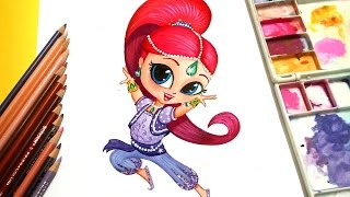 Draw ✤ SHIMMER ✤ from Shimmer and Shine