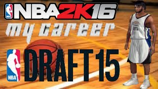 NBA 2K16 PS3 My Career Gameplay - Rookie Showcase, Interview and NBA Draft - NBA 2K16 My Career PS3