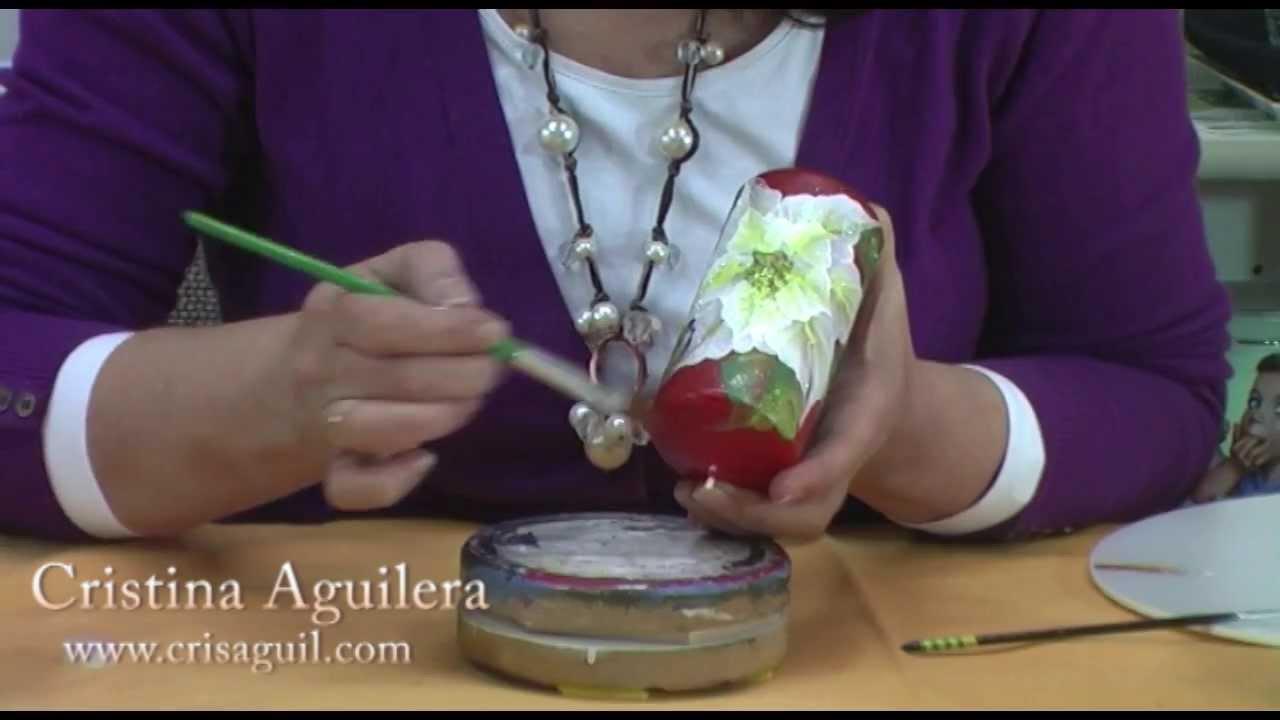 Decoraci n de las velas adviento youtube for Decoracion de velas