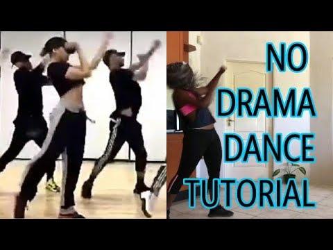 TINASHE x #NODRAMA OFFICIAL VIDEO CHOREOGRAPHY || DANCE TUTORIAL