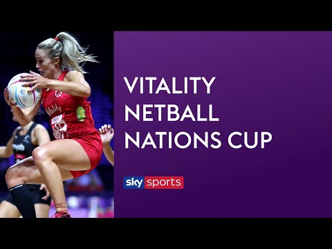 LIVE NETBALL! England Vs New Zealand