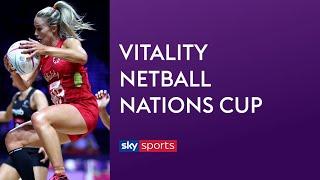 LIVE NETBALL! England vs New Zealand