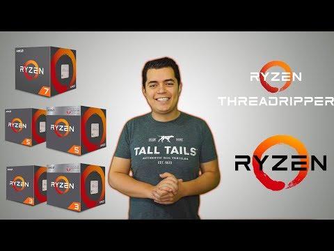 Básico: ¿Qué procesadores de AMD hay? Todo sobre los CPU AMD Ryzen en el 2018 | Proto Hw & Tec