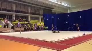 Юные волгодонские гимнастки привезли с соревнований россыпь наград и спортивный опыт
