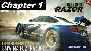 Need For Speed No Limits - Return Of Razor BMW M4 F82 - Chapter 1 FULL  [HD]