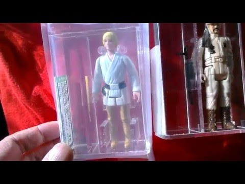 Loose, Graded Action Figures- Star Wars et al