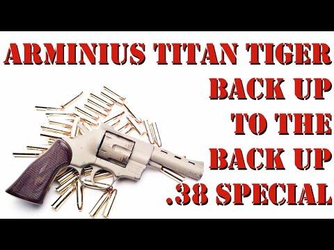 Arminius Titan Tiger  38 Special!! Revolver on the Cheap