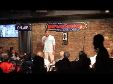 Gary Curtis at Stress Factory Comedy Club