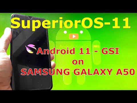 SuperiorOS-11 Android 11 for Samsung Galaxy A50 - Custom ROM