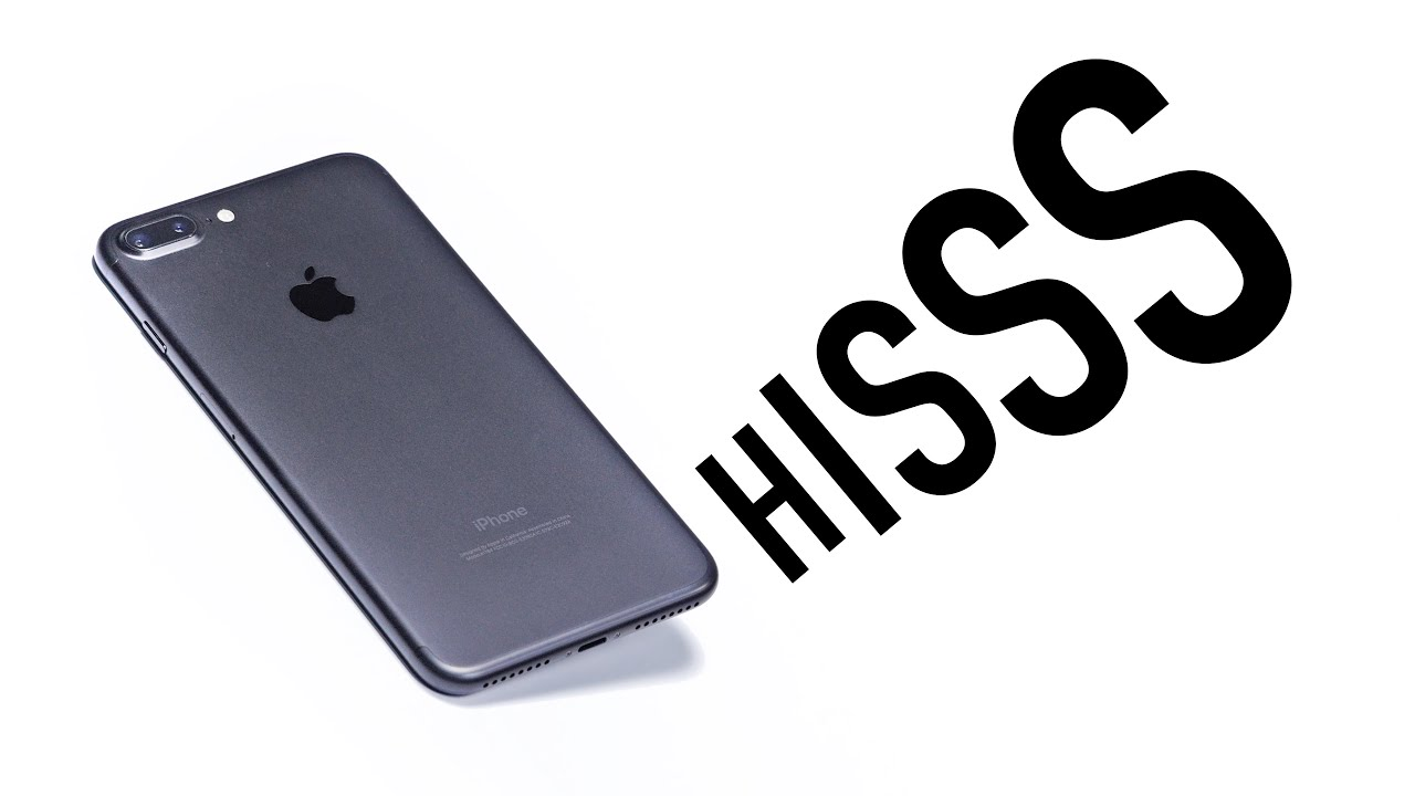 iPhone 7 Plus - Is There A Hissing Problem? - YouTube on