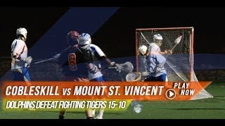 SUNY Cobleskill vs Mount Saint Vincent | 2014 Lax.com College Highlights