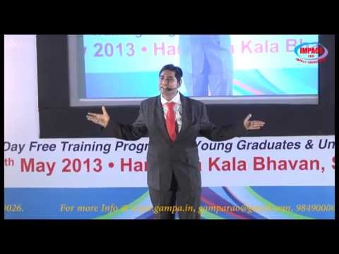 A Motivational talk by Jc Bhaskar Gupta Trainer JCI INDIA at IMPACT2013