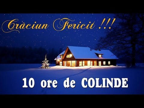 COLINDE FRUMOASE 2018 – 10 ORE DE COLINDE TRADITIONALE |  Mp3 Download