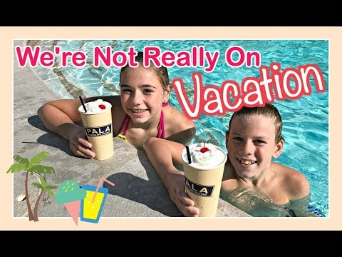WE'RE NOT REALLY ON VACATION 🌴   *VOTE* FOR YOUR FAVORITE VLOGGER IN THE FAM   Flippin' Katie