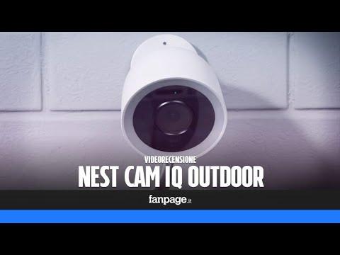 Plafoniere Con Telecamera : Recensione nest cam iq outdoor la migliore telecamera da esterni