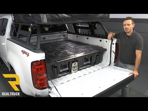 How to Install DECKED Truck Bed Storage System on a 2016 Chevy Colorado