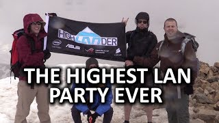 HighLANder - The Highest Mountaintop LAN Party EVER - LTT Official Video