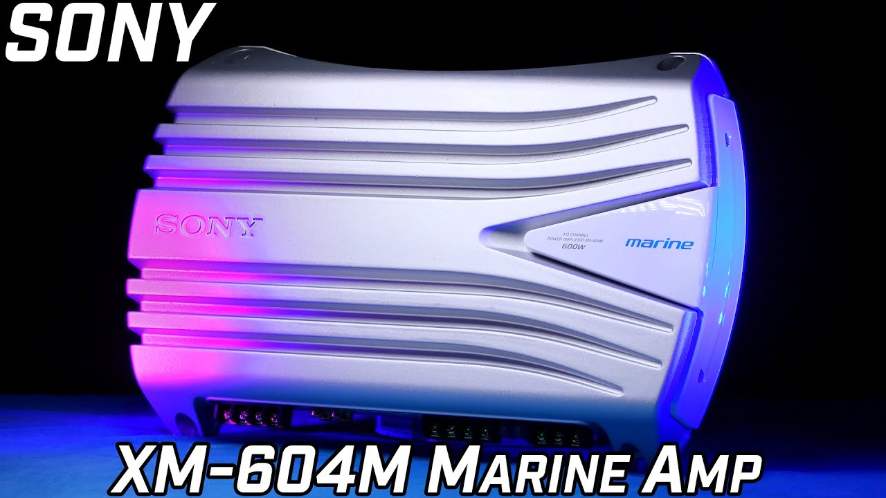 Sony XM-604M - Marine Amplifier - Review 2016 on