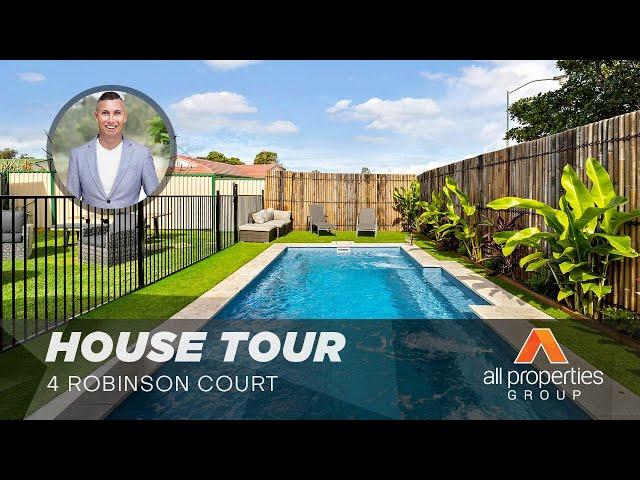 HOUSE TOUR   4 Robinson Court Berrinba   CHRIS GILMOUR