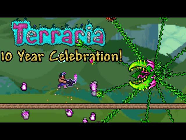Terraria Celebration Seed Part 15 (05162021) - Can We Beat Plantera?