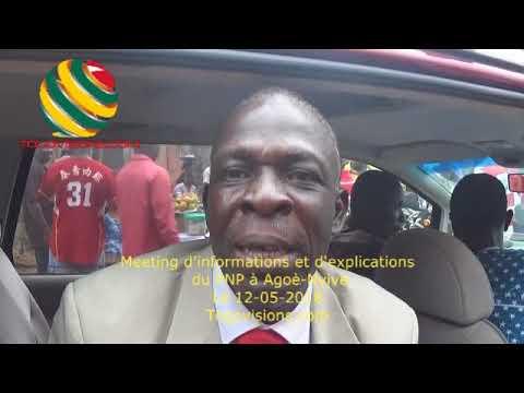 """Togo/Le PNP remobilise: OURO-DJIKPA Tchatikpi:""""Nous ne sommes plus loin de la victoire finale"""""""