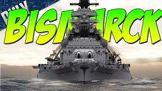 BATTLESHIP BISMARCK - Love This SHIP (World Of Warships Gameplay)