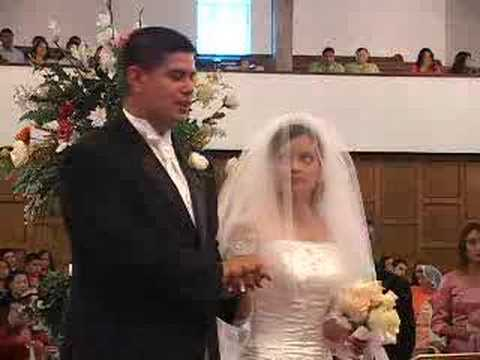 051112 Wedding Ceremony at Apostolic Bible Center in Houston - YouTube