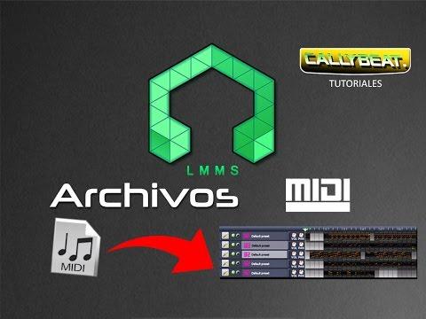Importando archivos MIDI en LMMS (TUTORIAL EN ESPAÑOL)