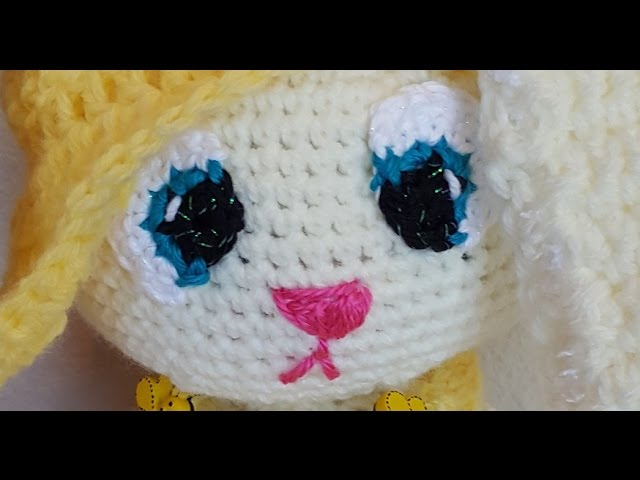 Crochet Eyes Tutorial - An Alternative To Plastic Safety Eyes ... | 480x640