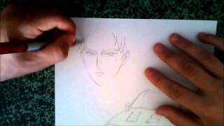 Speed Drawing Keisuke Takahashi Initial D