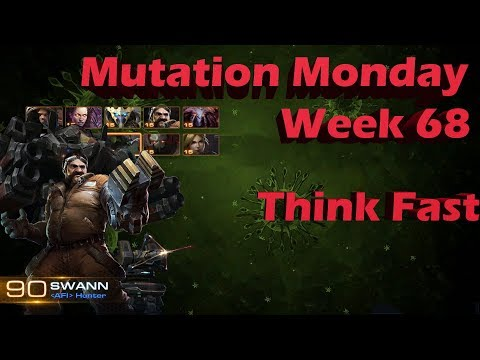 Mutation Monday Brutal Swann Week 68 Think Fast [Full Clear Baby]