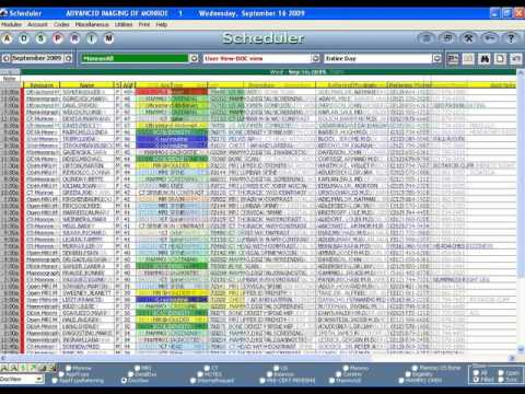 Medical Billing Software - ADS MedicsPremier Scheduler Demo