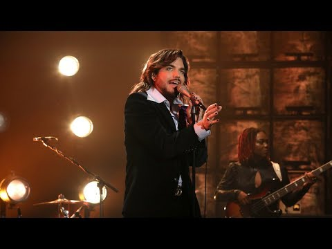 Adam Lambert Performs 'New Eyes'
