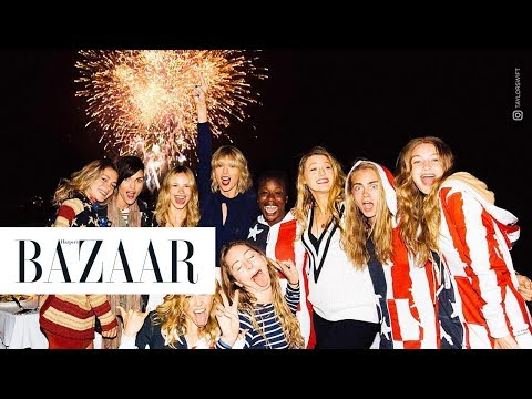 A Timeline of Taylor Swift's Epic 4th of July Parties