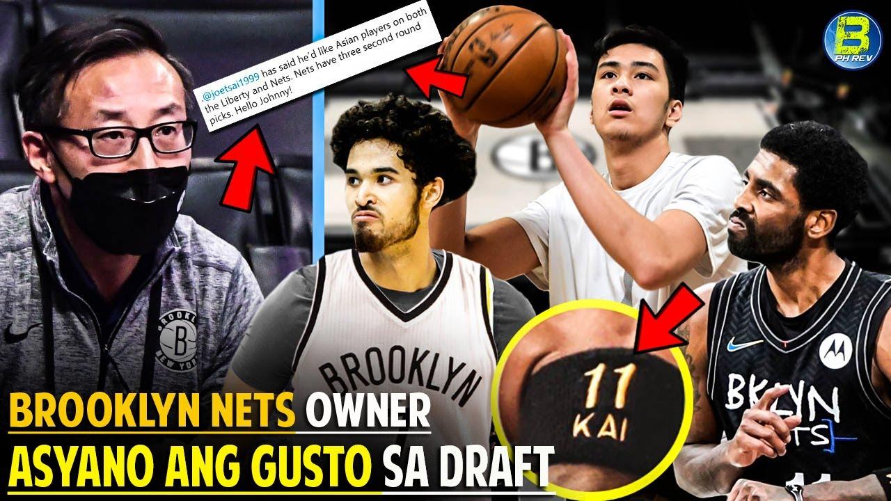 BROOKLYN NETS Owner Asyano ang Gusto sa NBA Draft | Ang MAHIWAGANG WRISTBAND ni KYRIE