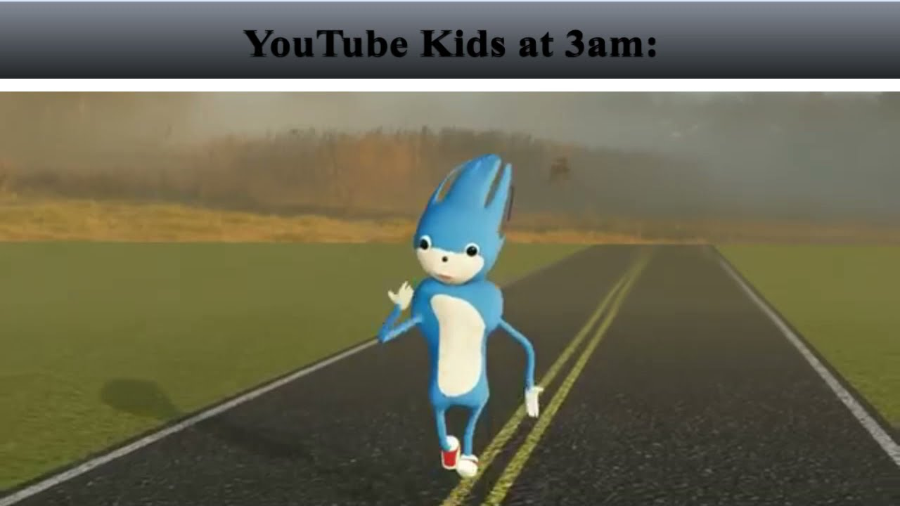 Youtube Kids at 3am